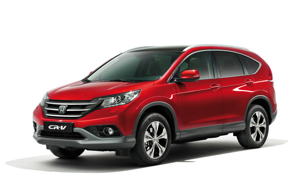 Honda CR-V eerste plaats in klanttevredenheidsonderzoek